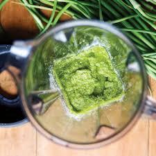 Easy Garlic Scape Pesto